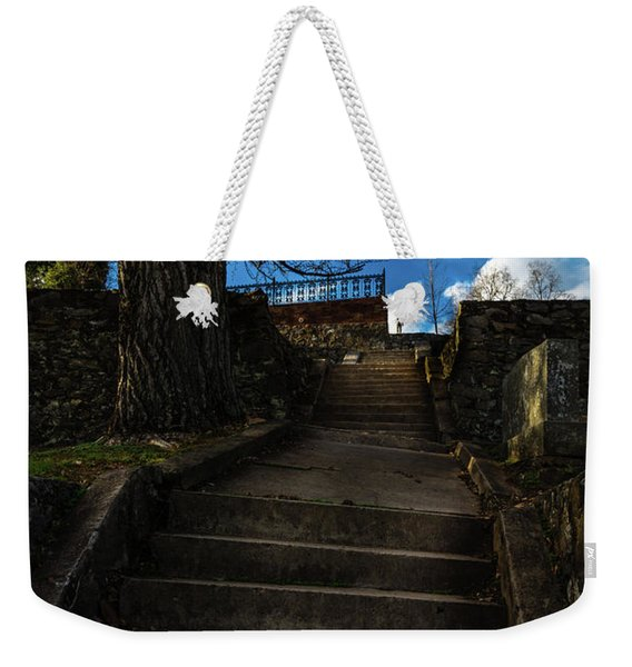 Lonely Soul Atop The Hill Weekender Tote Bag