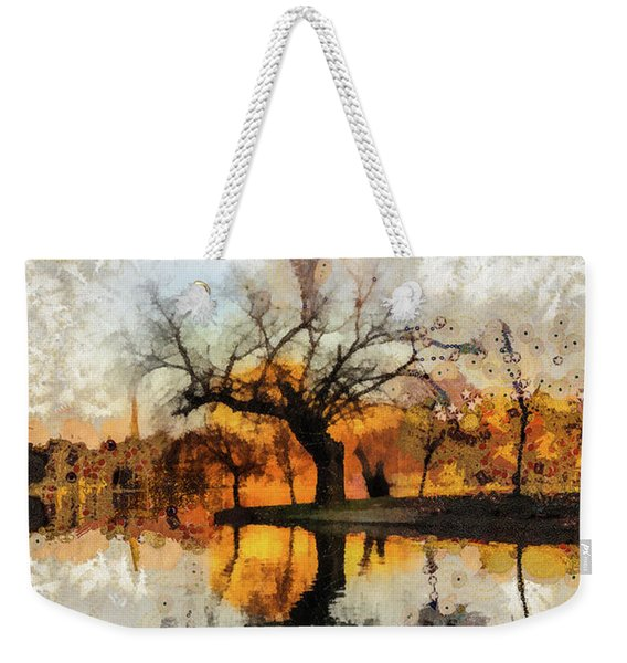 Lonely Tree And Its Thoughts Weekender Tote Bag