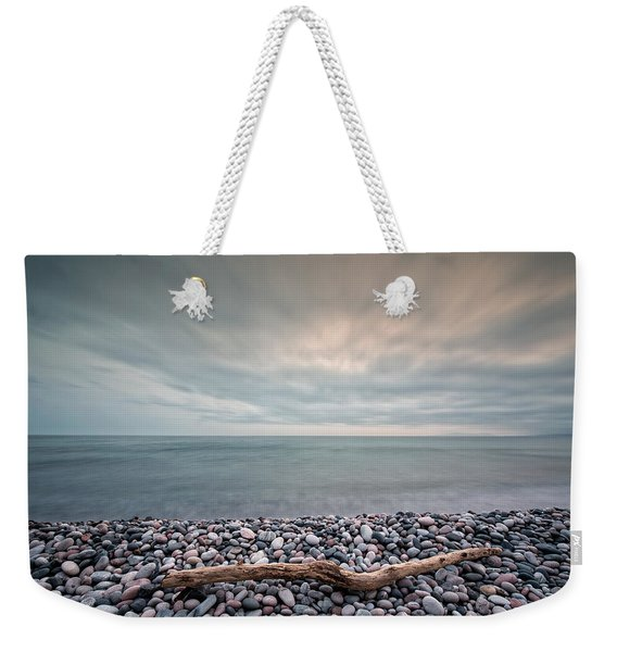 Weekender Tote Bag featuring the photograph Loner by Doug Gibbons