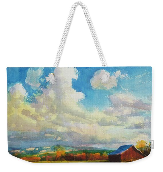 Lonesome Barn Weekender Tote Bag