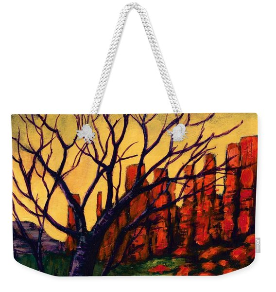 Lonesome Tree  Weekender Tote Bag
