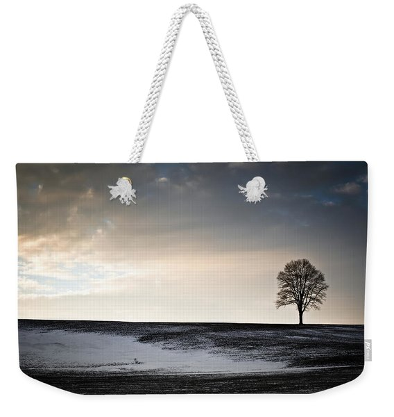 Lonesome Tree On A Hill IIi Weekender Tote Bag