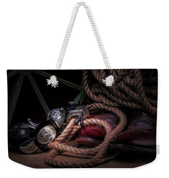 Lonestar Cowpoke Weekender Tote Bag