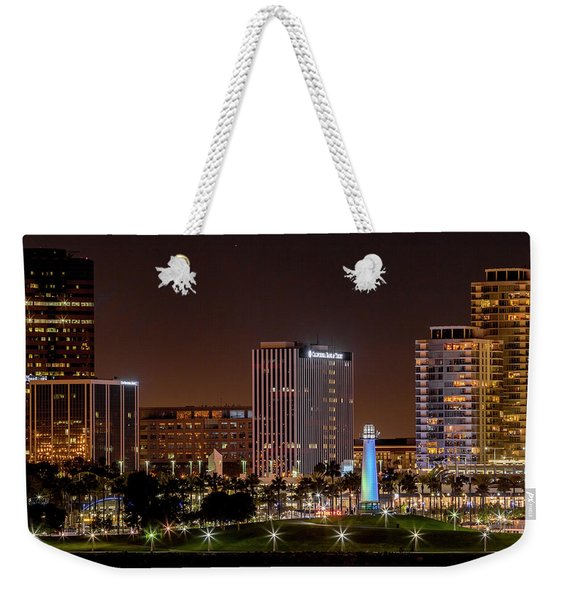 Long Beach A Chip In Time Color Weekender Tote Bag