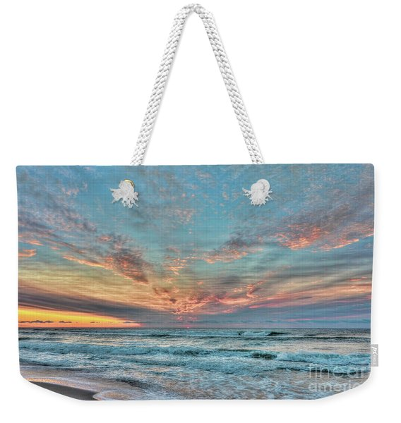 Long Beach Island Sunrise Weekender Tote Bag