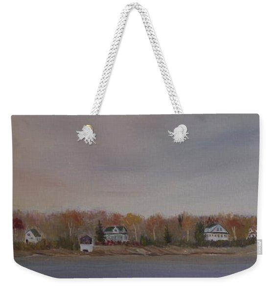 Long Cove Fall Weekender Tote Bag