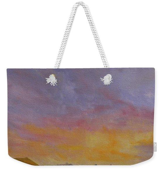 Long Cove Sunrise Weekender Tote Bag