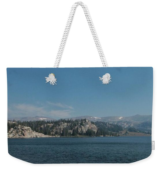 Long Lake Shoshone National Forest Weekender Tote Bag