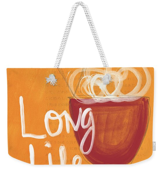 Long Life Noodle Bowl Weekender Tote Bag