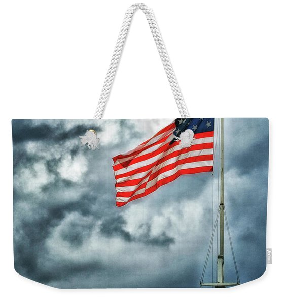 Long May It Wave Weekender Tote Bag