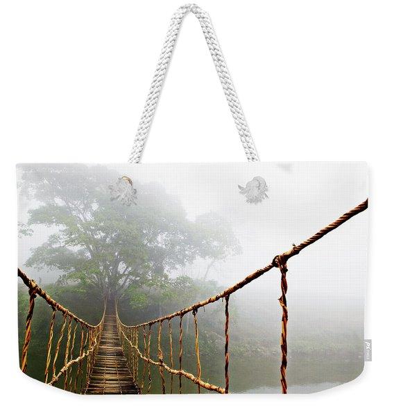 Long Rope Bridge Weekender Tote Bag
