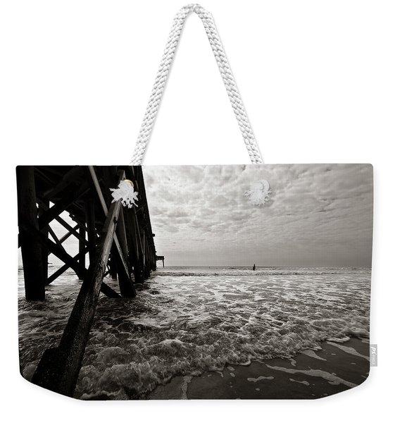 Long To Surf Weekender Tote Bag