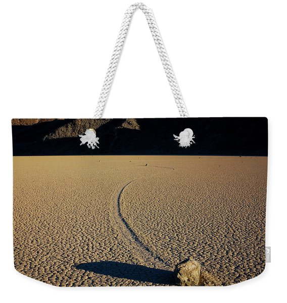 Long Tracks Weekender Tote Bag