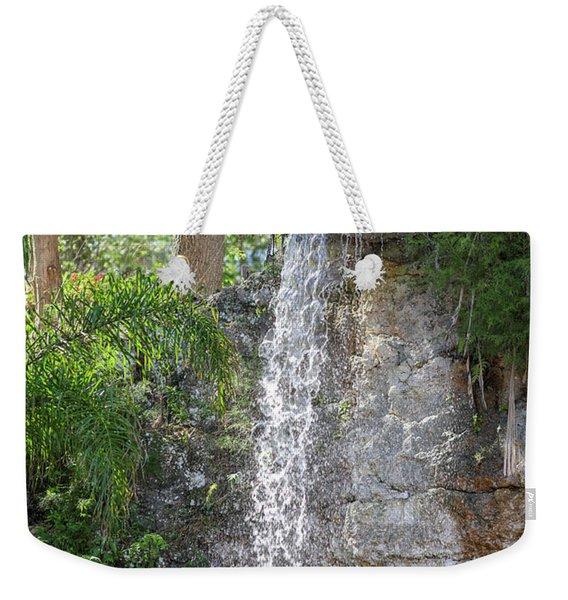 Long Waterfall Drop Weekender Tote Bag