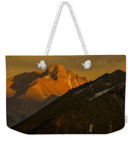 Long's Peak Weekender Tote Bag