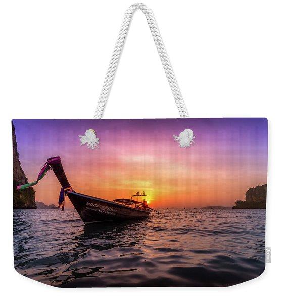 Longtail Sunset Weekender Tote Bag