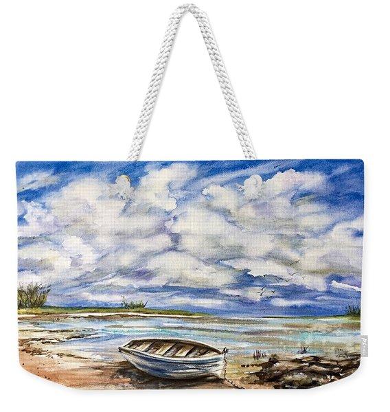 Lonley Boat 3 Weekender Tote Bag