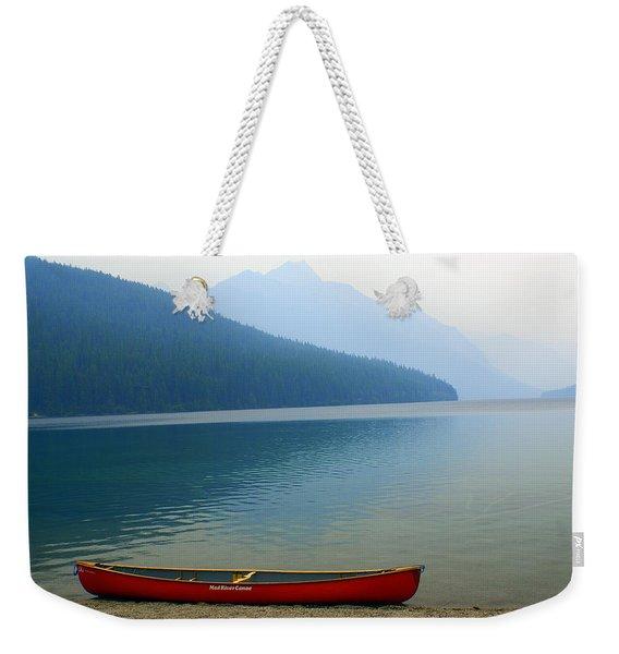Lonly Canoe Weekender Tote Bag
