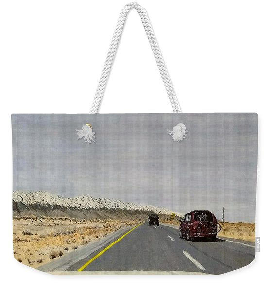 Weekender Tote Bag featuring the painting Look For America by Kevin Daly