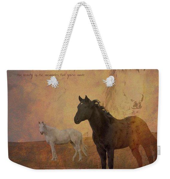 Look Forward Weekender Tote Bag