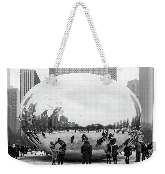 Look Into The Eye Weekender Tote Bag
