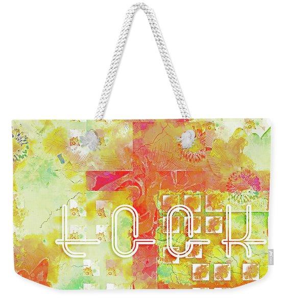 Look Weekender Tote Bag