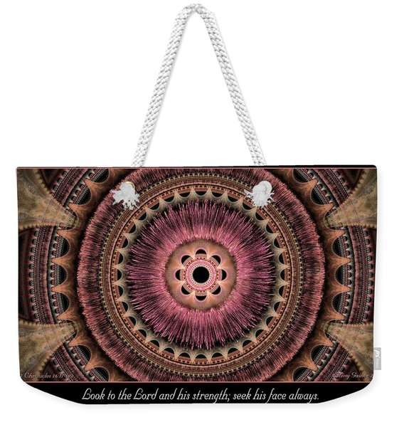 Look To The Lord Weekender Tote Bag