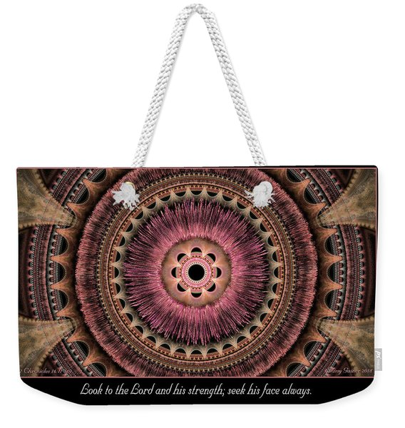 Look To The Lord Weekender Tote Bag