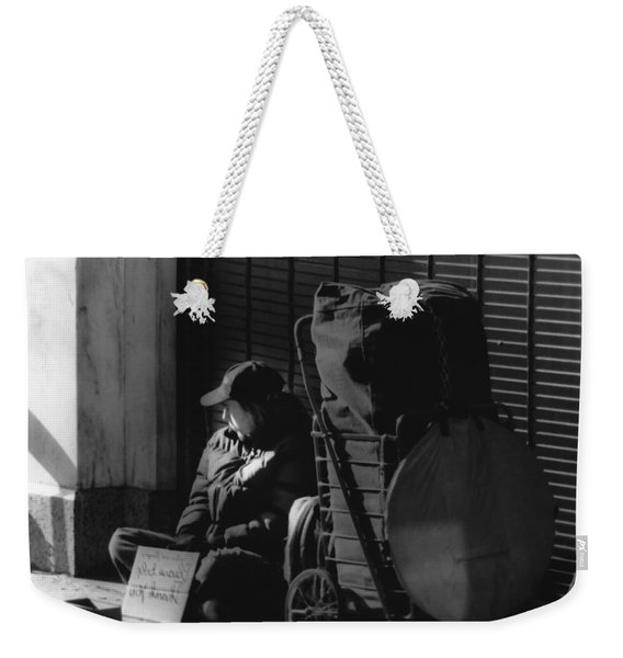 Looked The Other Way Weekender Tote Bag