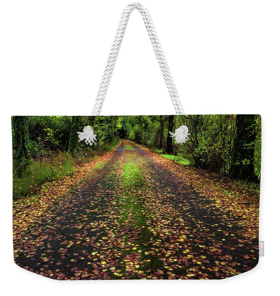 Looking Down The Lane Weekender Tote Bag