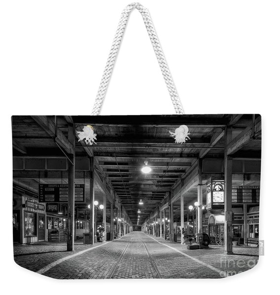 Looking Down The Tracks Weekender Tote Bag