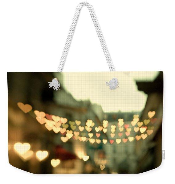 Looking For Love Weekender Tote Bag