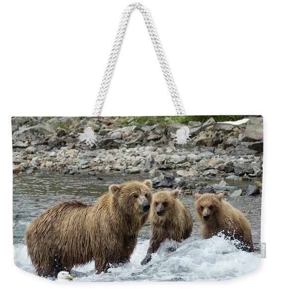 Looking For Sockeye Salmon Weekender Tote Bag
