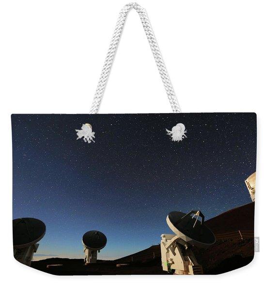 Looking For Space Weekender Tote Bag