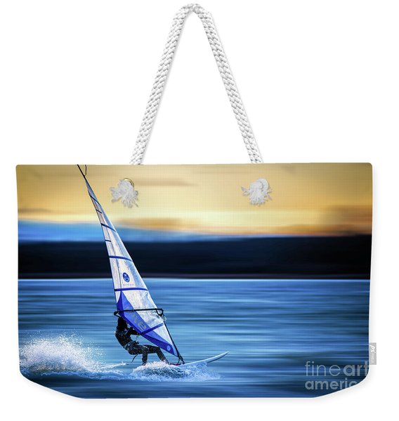 Looking Forward Weekender Tote Bag