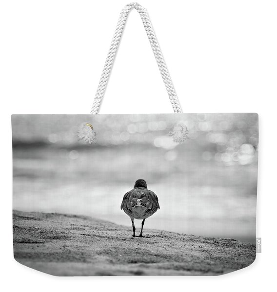 Looking Out To Sea Weekender Tote Bag