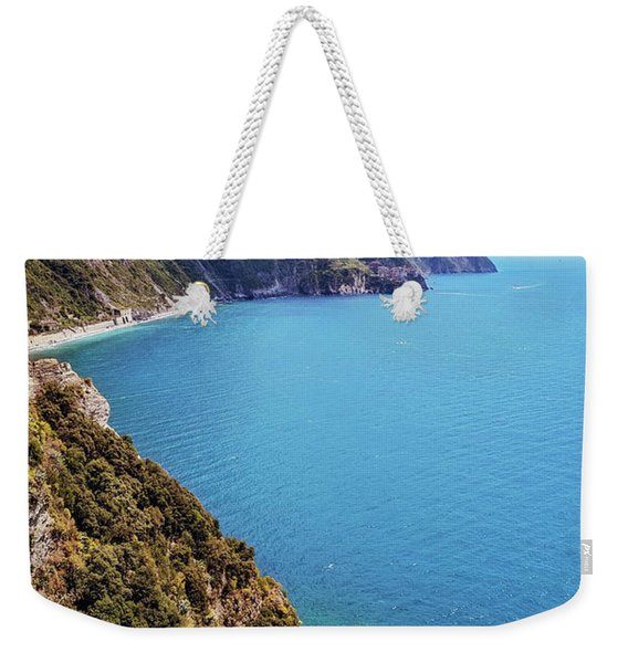 Looking South From Corniglia Cinque Terre Weekender Tote Bag