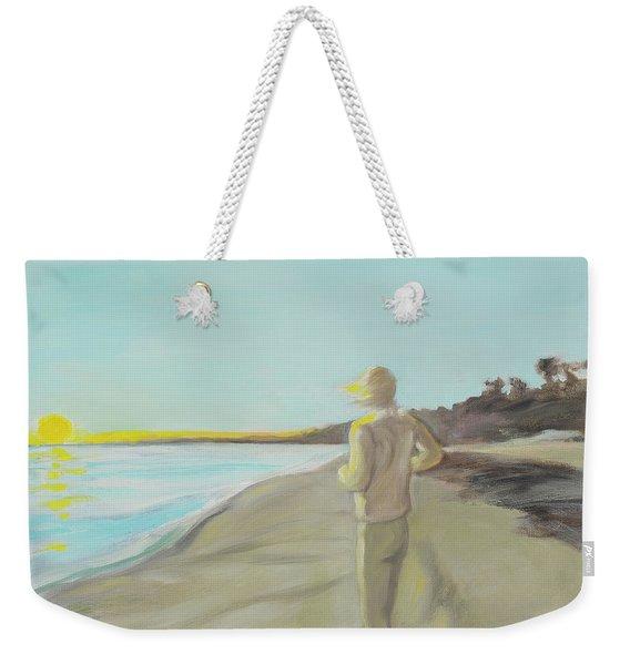 Looking South Tryptic Part 3 Weekender Tote Bag