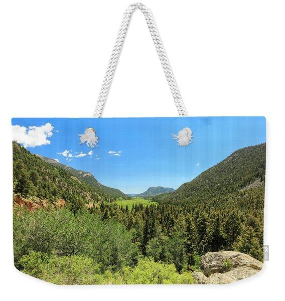 Looking Thru The Valley Weekender Tote Bag