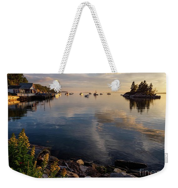 Lookout Point, Harpswell, Maine  -99044-990477 Weekender Tote Bag