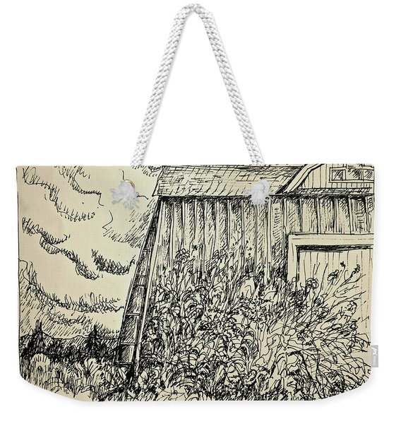 Looming Barn Weekender Tote Bag