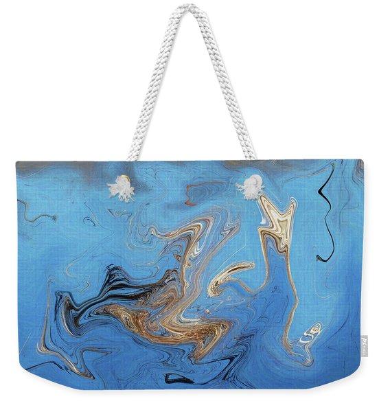 Loop Pond Dance Weekender Tote Bag