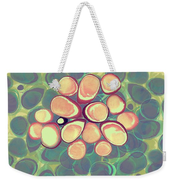 Loopy Dots #5 Weekender Tote Bag