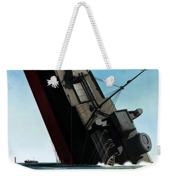 Loose Talk Can Cost Lives Weekender Tote Bag