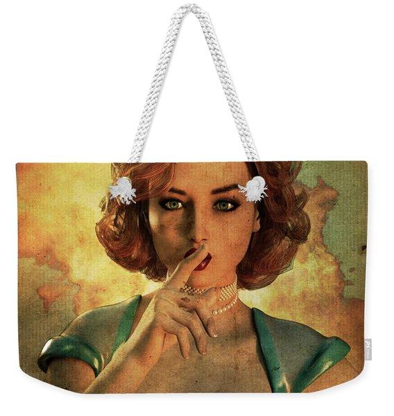 Loose Talk Weekender Tote Bag