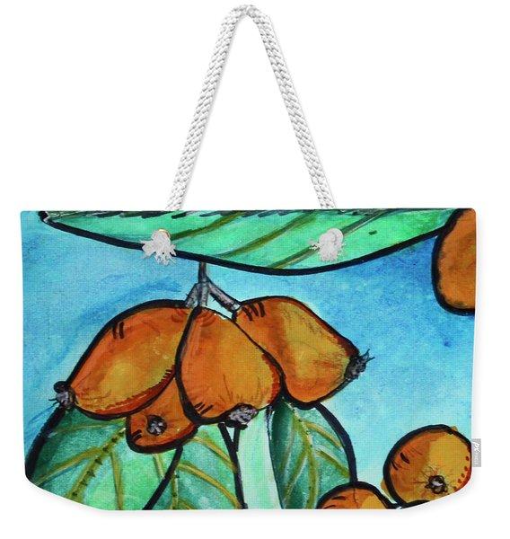 Loquats I Weekender Tote Bag