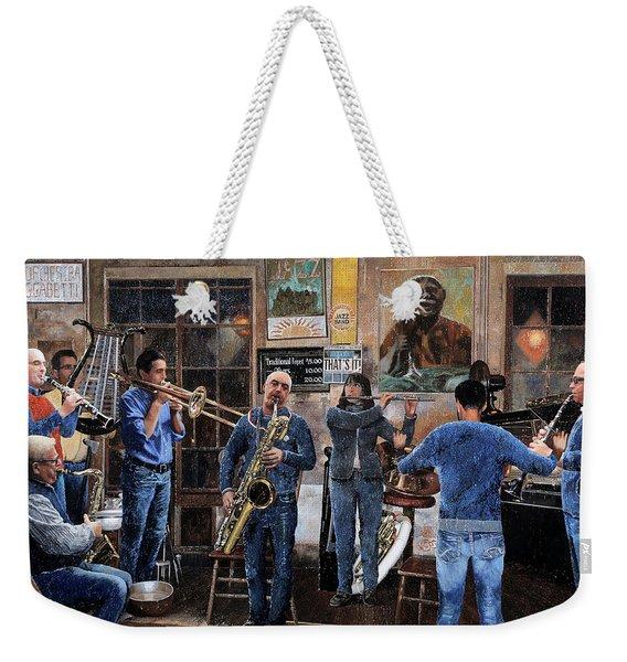 L'orchestra Weekender Tote Bag