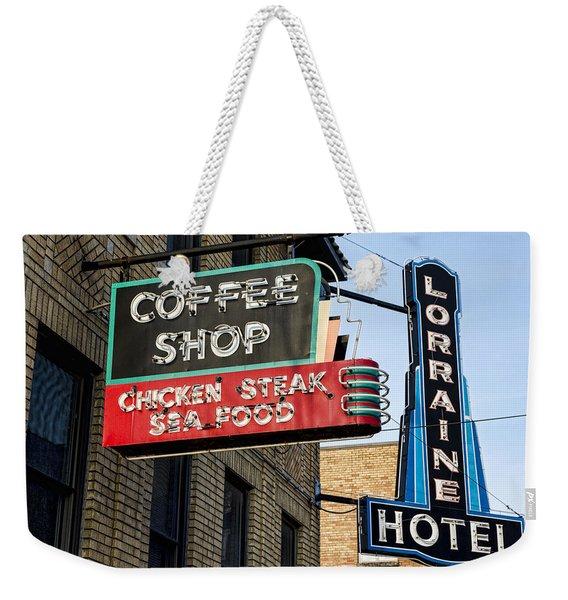 Lorraine Hotel Coffee Shop Weekender Tote Bag