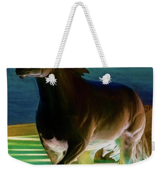 Las Colinas Mustangs Filter Weekender Tote Bag