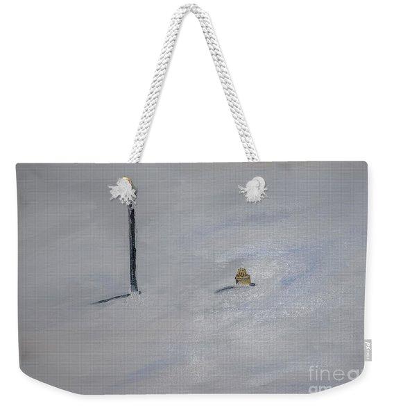 Lost Fire Hydrant Weekender Tote Bag